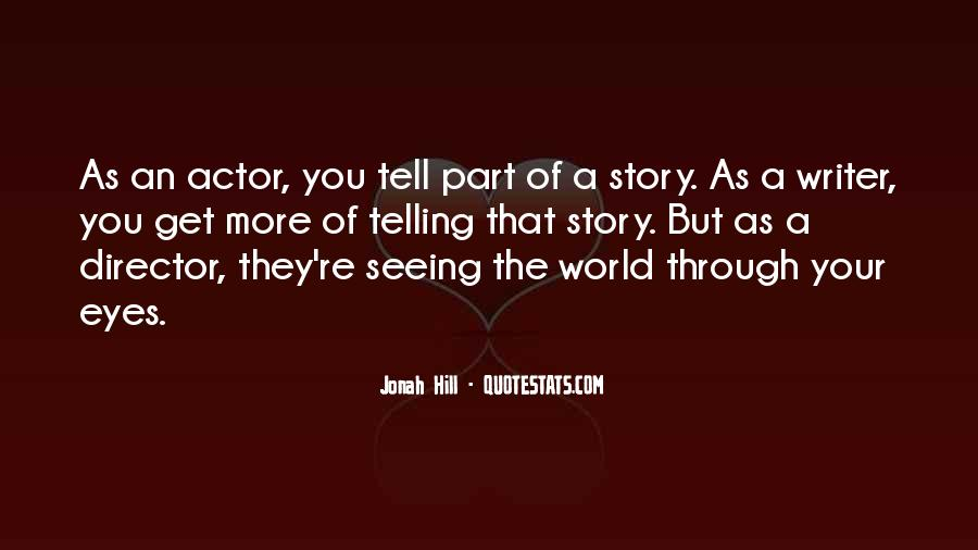 Quotes About Eyes Telling A Story #403468
