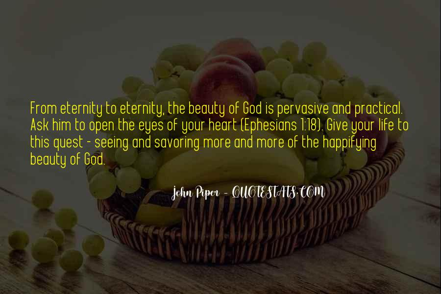 Quotes About Eyes And God #12747