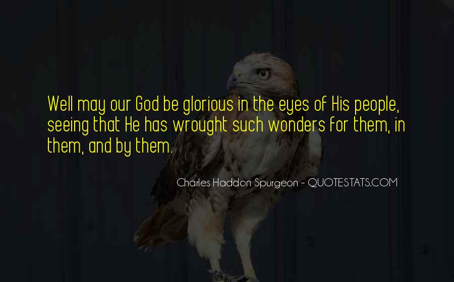 Quotes About Eyes And God #154567