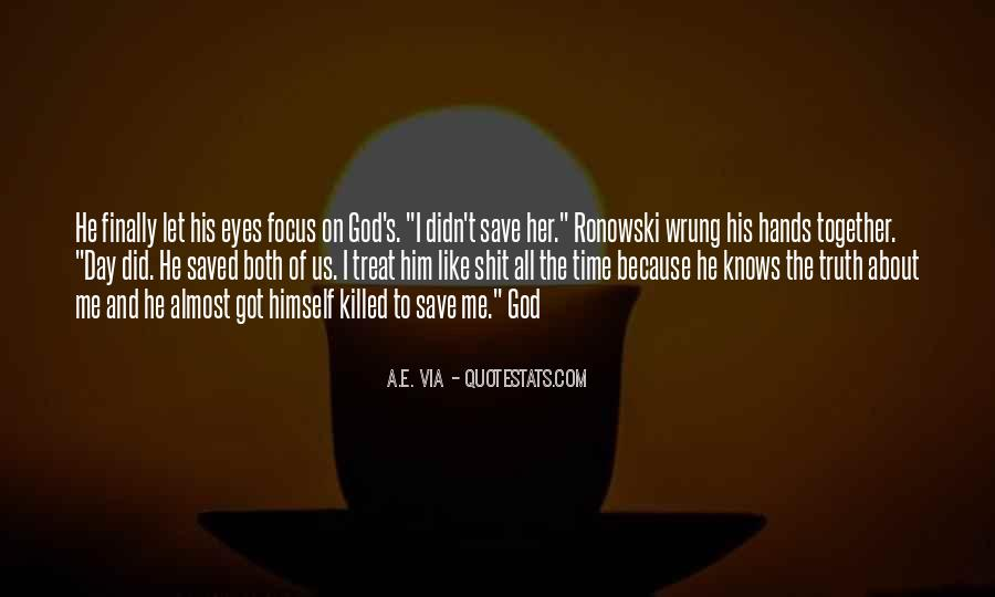 Quotes About Eyes And God #328488