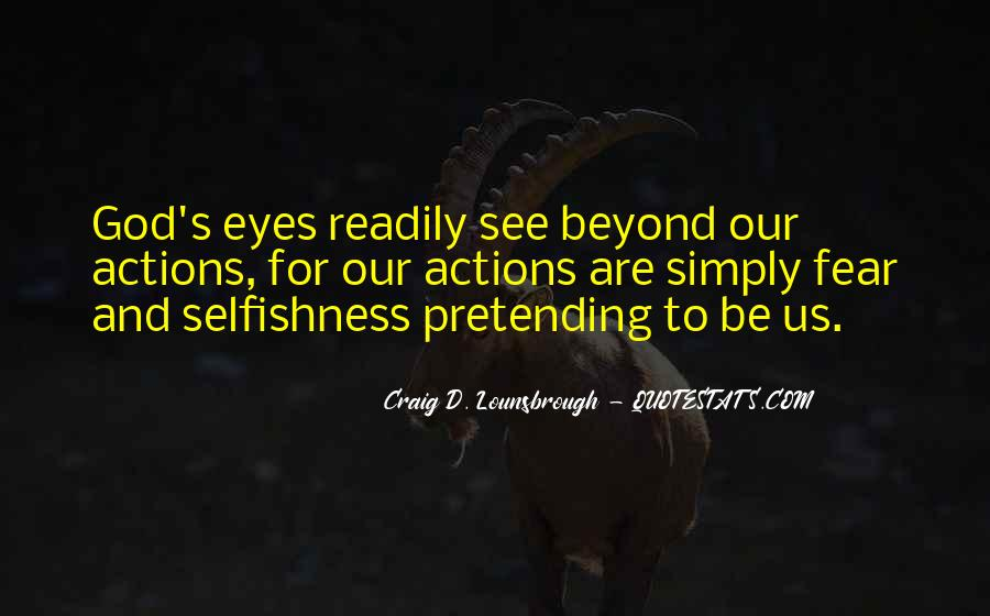 Quotes About Eyes And God #88909