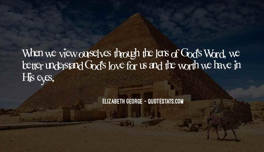 Quotes About Eyes And God #9368