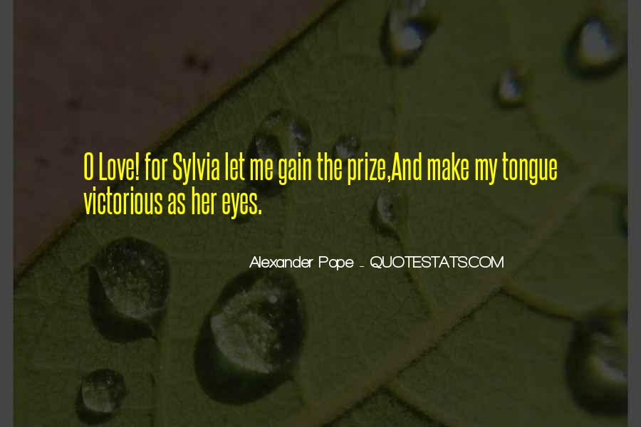 Quotes About Eye On The Prize #1216977