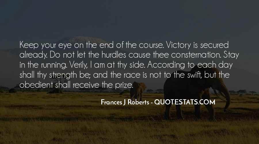 Quotes About Eye On The Prize #1639800