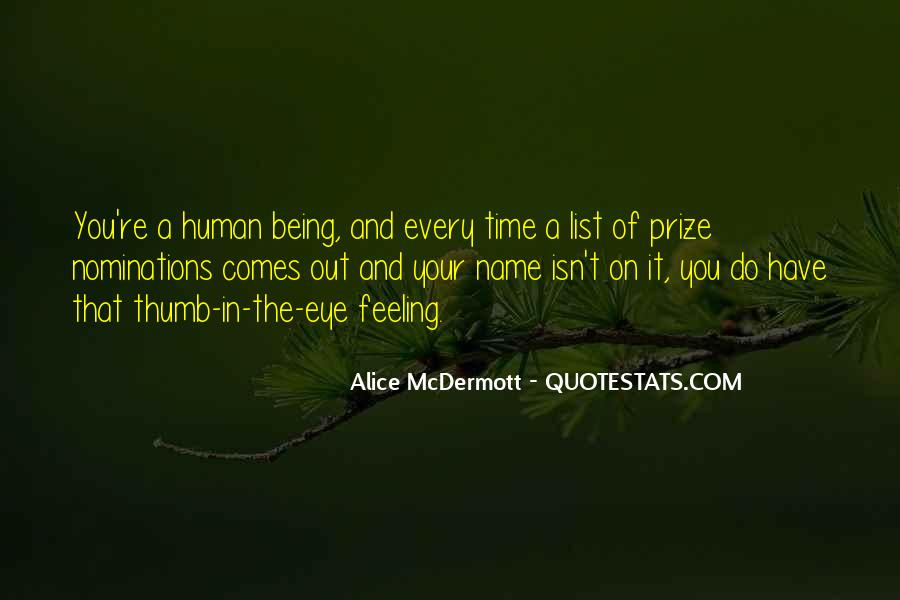 Quotes About Eye On The Prize #986539