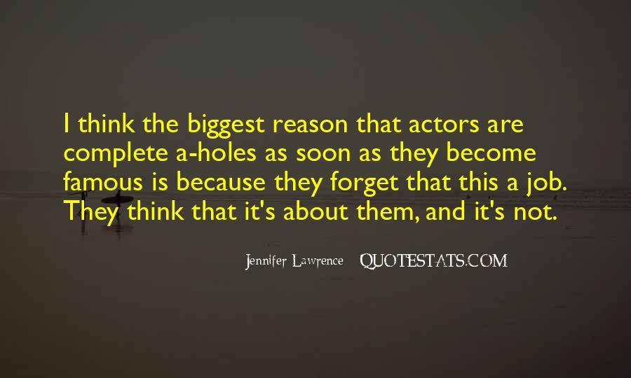 Jennifer Lawrence Famous Quotes #1544960