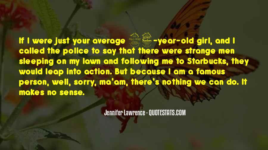 Jennifer Lawrence Famous Quotes #1640310