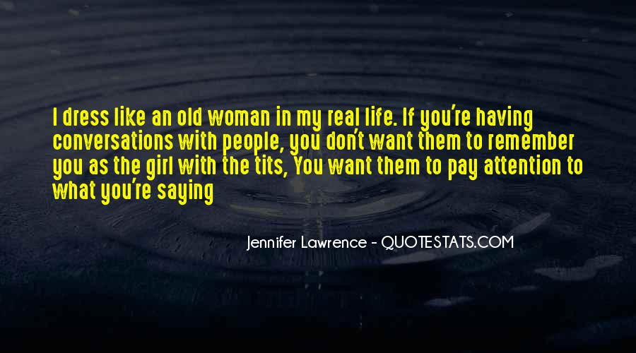 Jennifer Lawrence Funny Quotes #1030545
