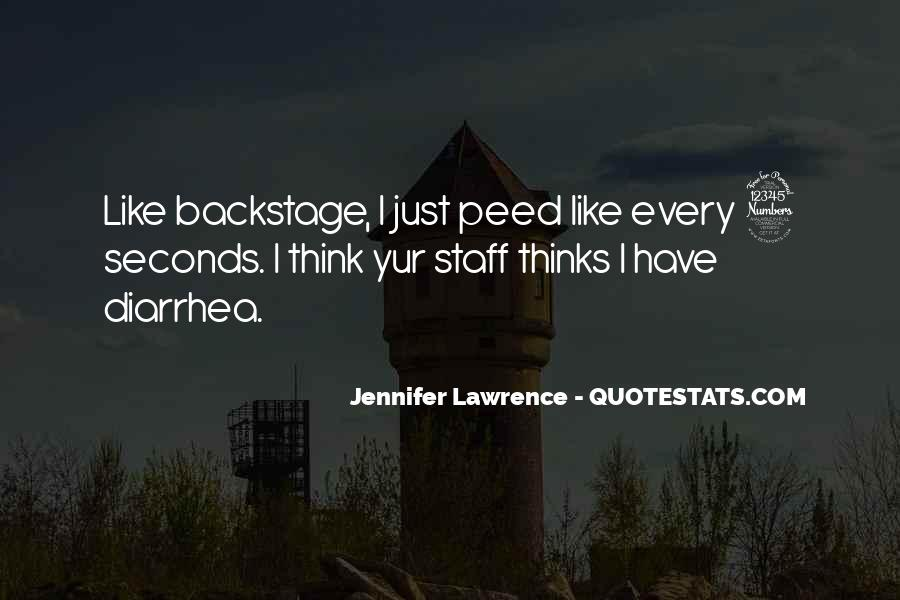 Jennifer Lawrence Funny Quotes #1198660