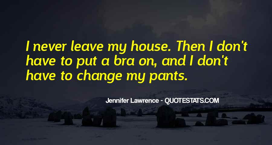 Jennifer Lawrence Funny Quotes #572419