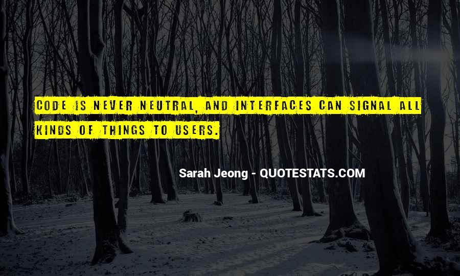 Jeong Jeong Quotes #947942