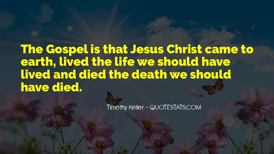 Jesus Christ Died For Us Quotes #1084432
