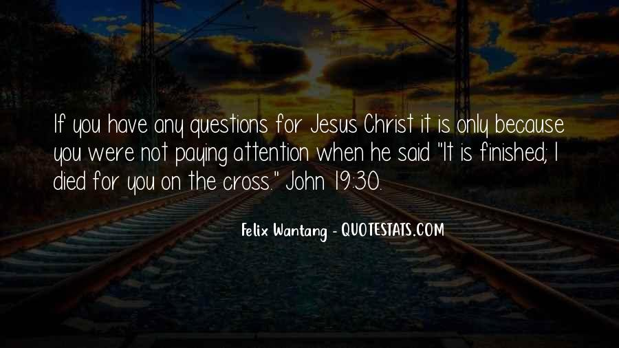 Jesus Christ Died For Us Quotes #1194833