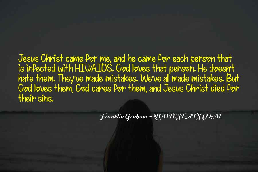 Jesus Christ Died For Us Quotes #157320