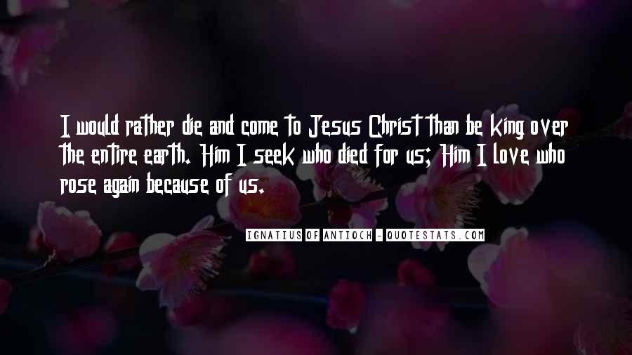 Jesus Christ Died For Us Quotes #227445