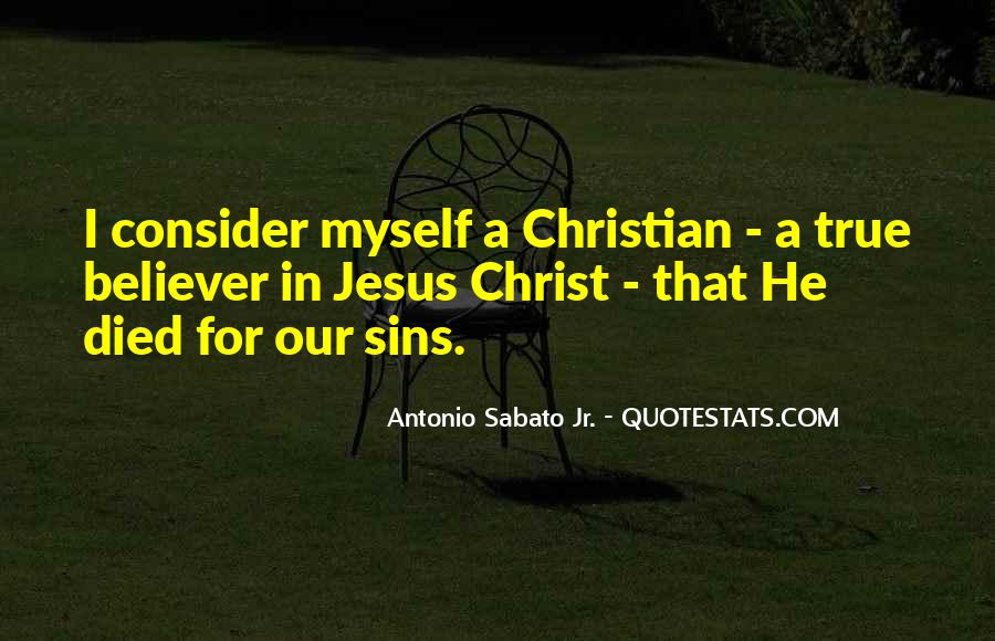 Jesus Christ Died For Us Quotes #460102