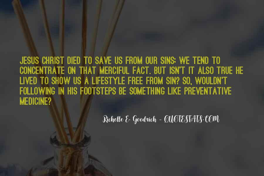 Jesus Christ Died For Us Quotes #538362