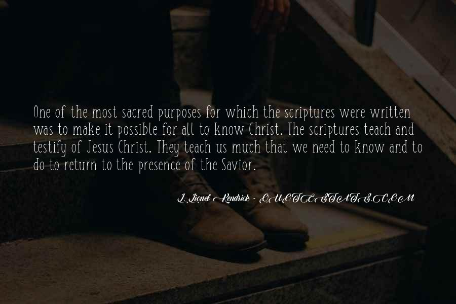 Jesus Christ My Savior Quotes #1151659