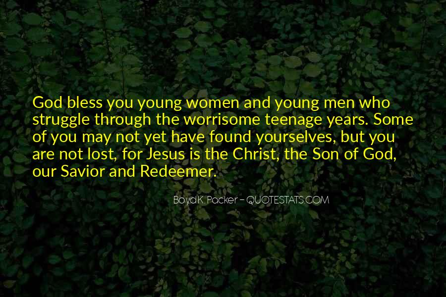 Jesus Christ My Savior Quotes #1255438