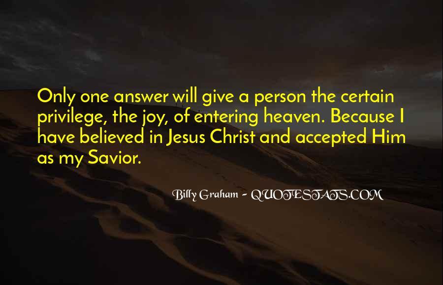 Jesus Christ My Savior Quotes #1592760