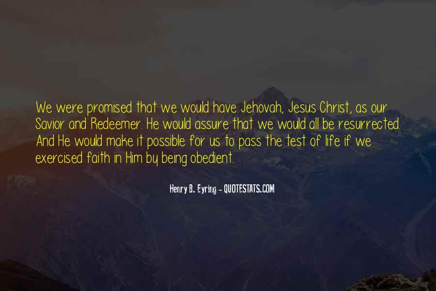 Jesus Christ My Savior Quotes #201626
