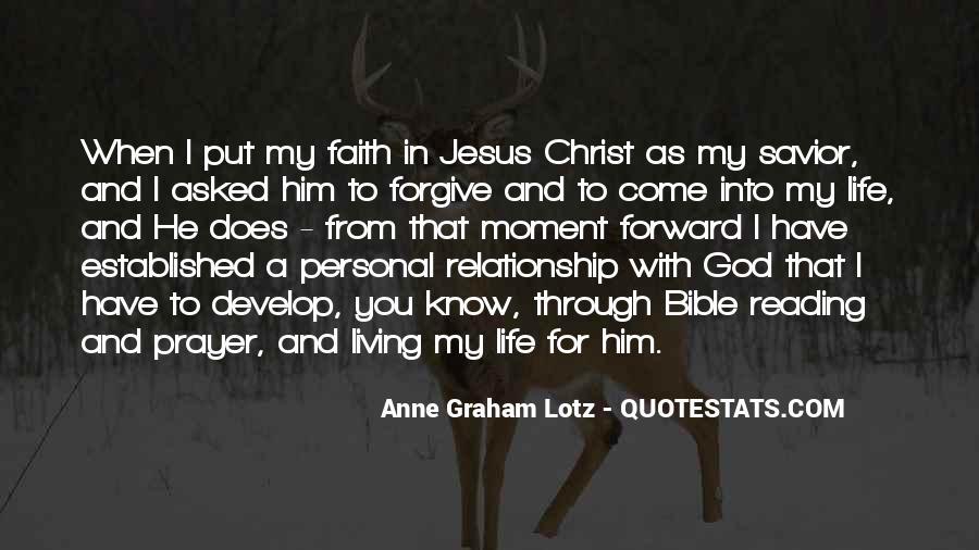 Jesus Christ My Savior Quotes #92849
