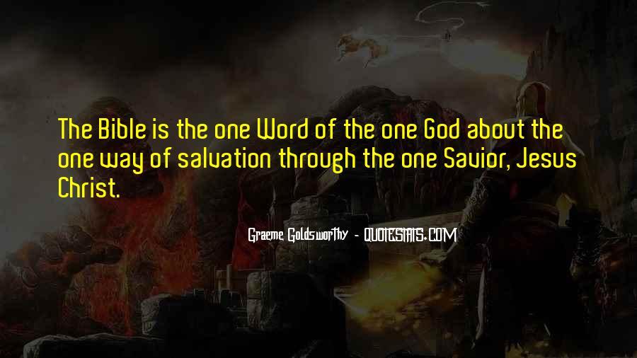Jesus Christ My Savior Quotes #965622