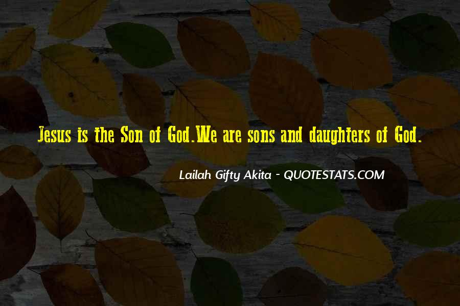 Jesus Christ The Son Of God Quotes #1070005