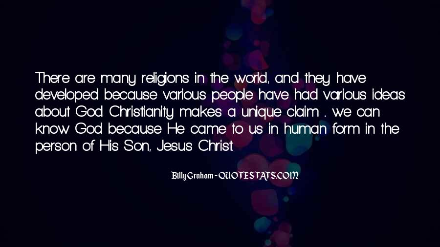 Jesus Christ The Son Of God Quotes #1276366