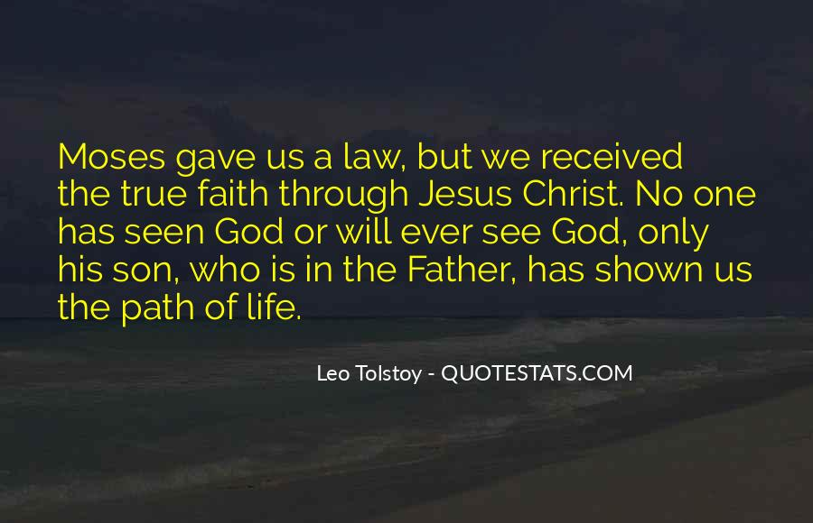 Jesus Christ The Son Of God Quotes #1516345