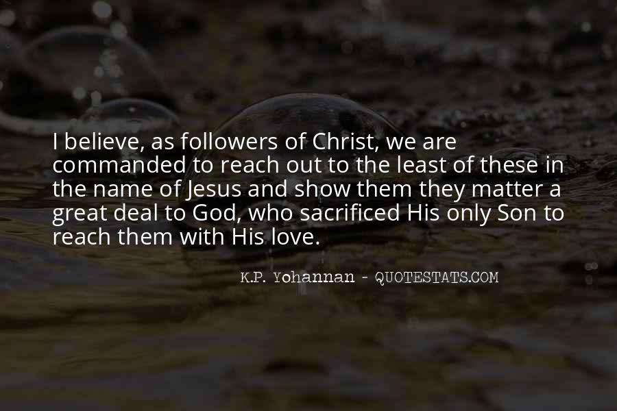 Jesus Christ The Son Of God Quotes #909462