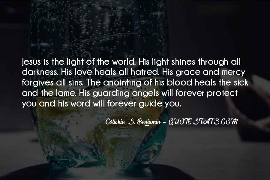 Jesus Is The Light Of The World Quotes #594963