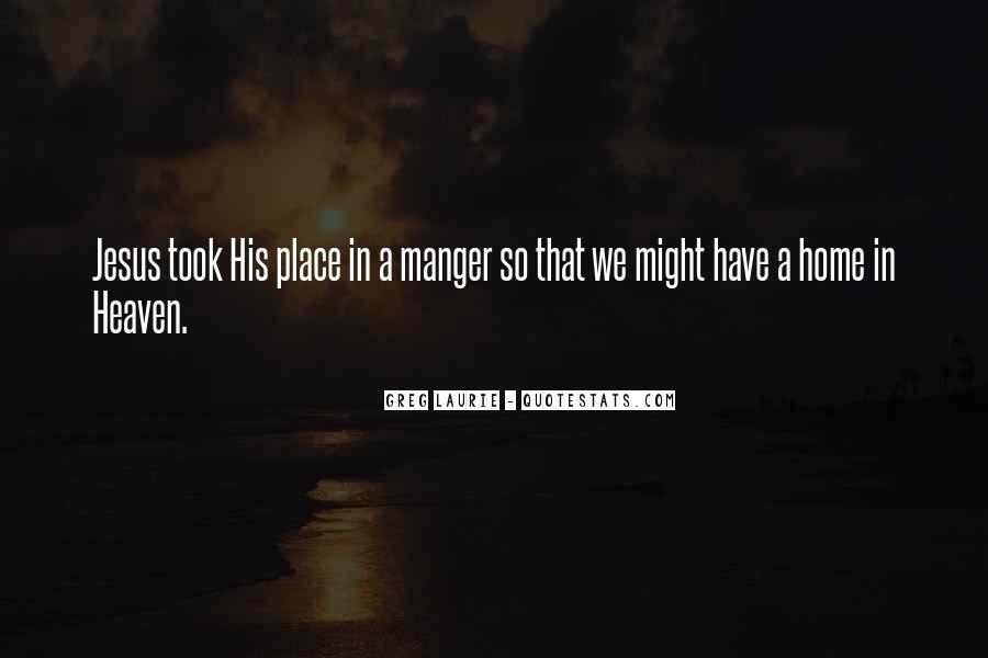 Jesus Manger Quotes #902138