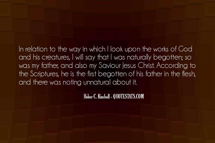 Jesus My Saviour Quotes #1095895
