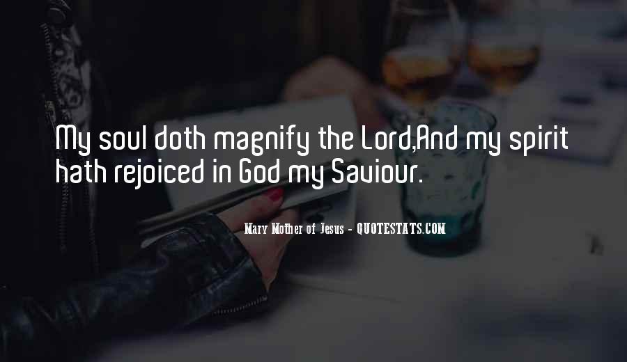 Jesus My Saviour Quotes #1171389