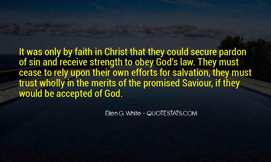 Jesus My Saviour Quotes #1273702
