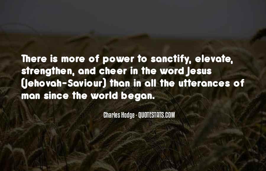 Jesus My Saviour Quotes #251889