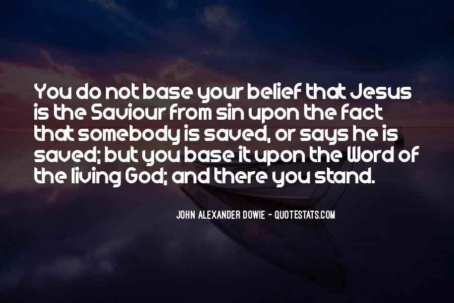 Jesus My Saviour Quotes #38379