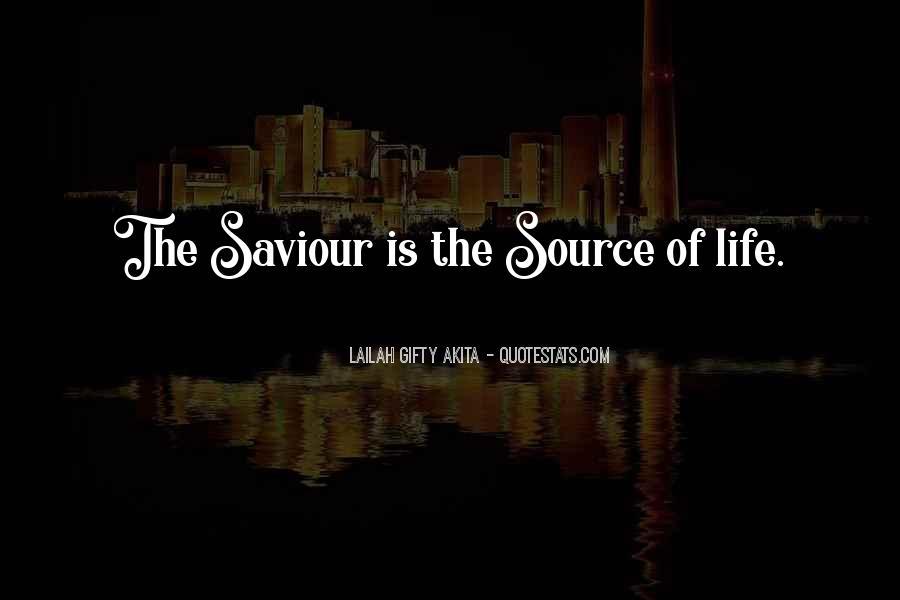 Jesus My Saviour Quotes #545107