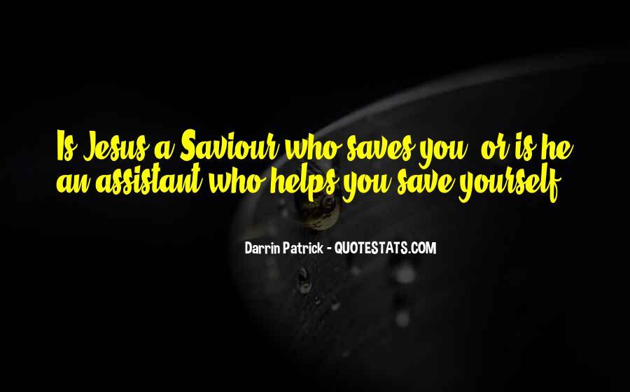 Jesus My Saviour Quotes #775020