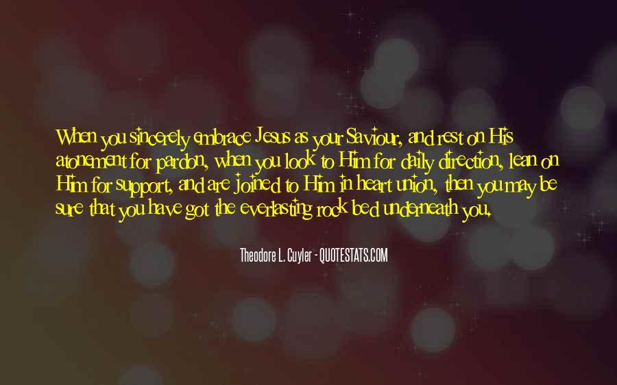 Jesus My Saviour Quotes #984256
