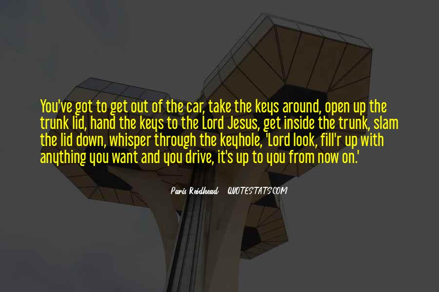 Jesus Take My Hand Quotes #1376883