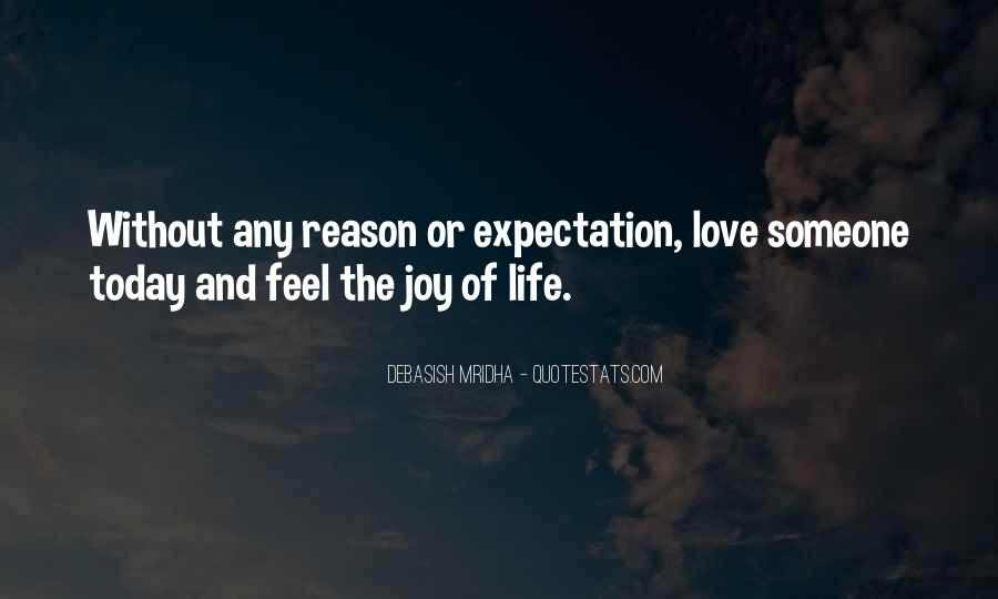 Quotes About Expectation Life #1016991