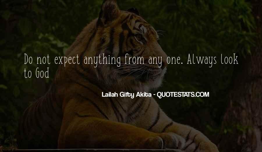Quotes About Expectation Life #1173351