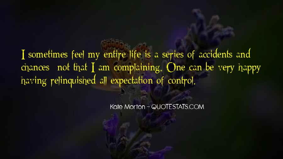 Quotes About Expectation Life #1195118