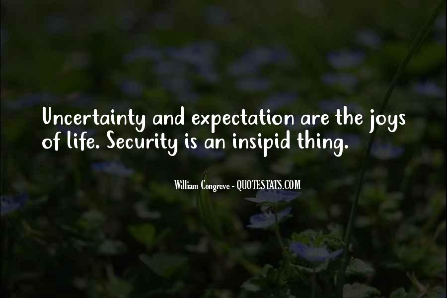 Quotes About Expectation Life #1256611