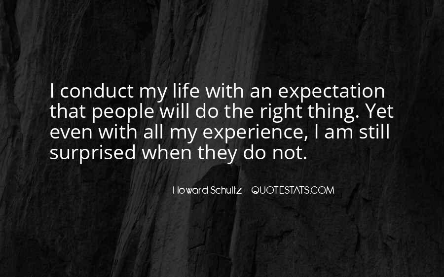 Quotes About Expectation Life #1314737