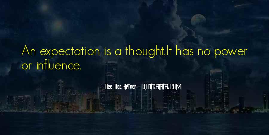 Quotes About Expectation Life #1469490