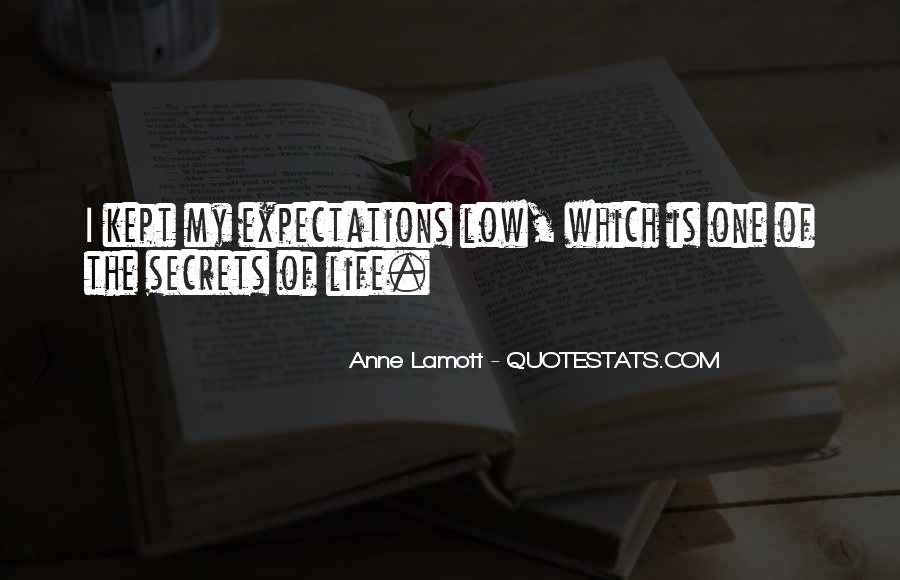 Quotes About Expectation Life #285307