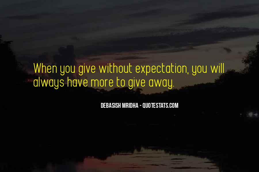 Quotes About Expectation Life #357178